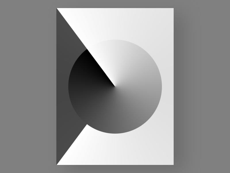 Untitled №5 experiment yakim challenge modernism geometric poster colors shapes abstract art untitled series