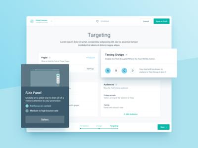 Target Audience Management Webapp