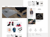 Showroom Landing Page Concept One