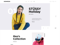 Showroom Landing Page Concept Two