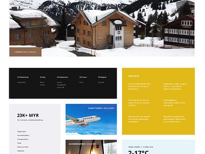 ETG V.2 guide travel europe landing homepage malaysia website web ux ui interface