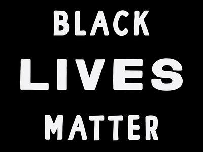 Black Lives Matter protest vector design illustration anti-trump black lives matter blm