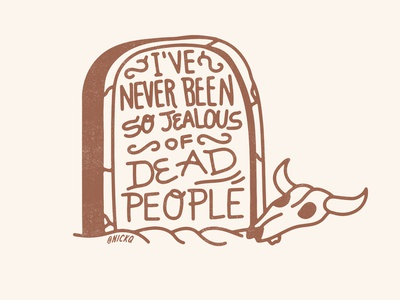 My 2020 Mantra skull western texas tombstone grave mantra 2020