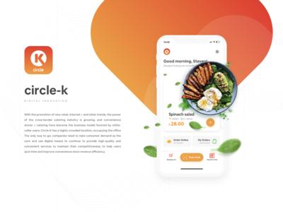 Circle K Digital Innovation Design uidesign ux mobile ui ui mobile app