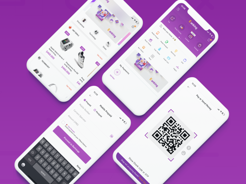 E-Banking ui sketch ux bank app ebank