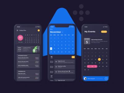 Ahihi UI Kit | Calendar Screen