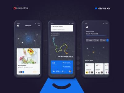 Ahihi UI Kit | Map Screen