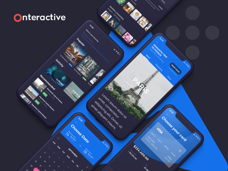 Ahihi UI Kit | Travel UI Kit ahihi illustration ui kit uiux uidesign sketch ui ux app concept travel