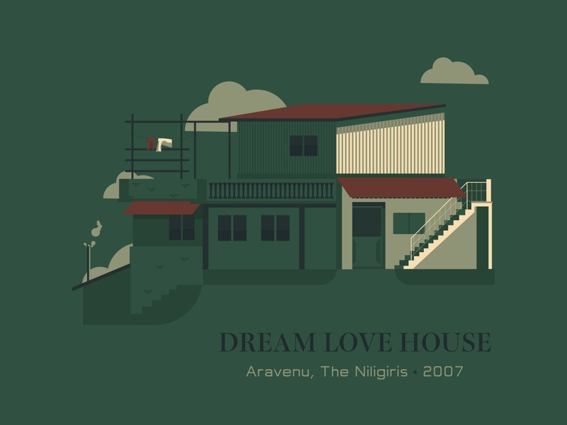 My House houseillustration myhouse vector poster design art illustrator concept illustration blackonewhitegk firebeez