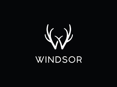 Windsor Apparel Logo Design logo branding design motiongraphics illustration blackonewhitegk firebeez