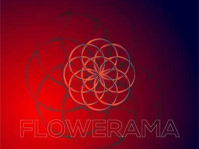 FLOWERAMA Concept Illustration gradient gradientillustration gradientart design art illustrator concept illustration blackonewhitegk firebeez