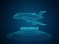 Aerospace HUD Hologram Illustration