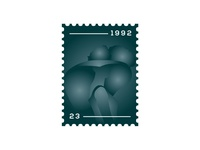 Angel Post Stamp