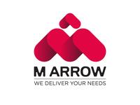 M Arrow Logo design