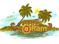 Onam Concept Art for Celebration