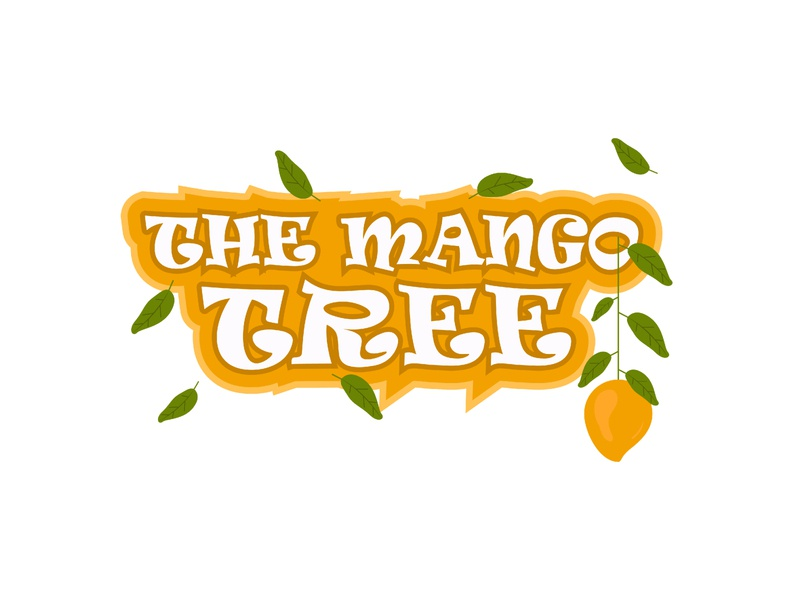The Mango Tree Title Design vector photoshop poster design art illustrator concept illustration blackonewhitegk firebeez