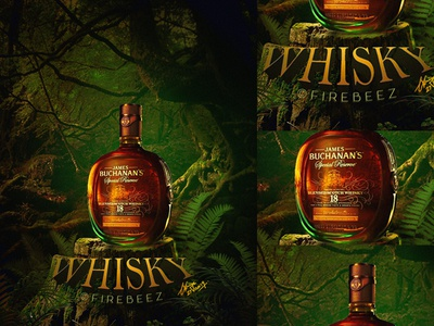 Whisky Concept Retouching Photo Manipulation wisky photomanipulation manipulation photoshop poster design art blackonewhitegk firebeez