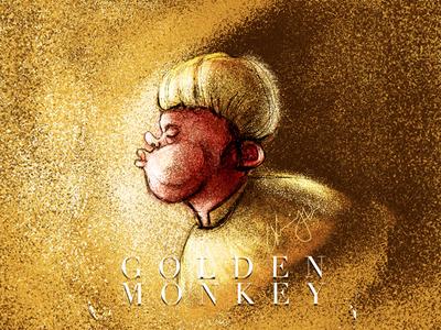 Golden Monkey concept Art art photoshop concept illustration blackonewhitegk firebeez
