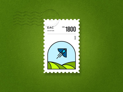 EAC Stamp- Aviation