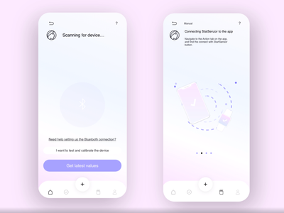 Carna | App Design health purple app application design ux ui design responsive design responsive website illustration application minimal branding inspiration design