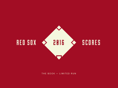 Red Sox Scores: The Book!