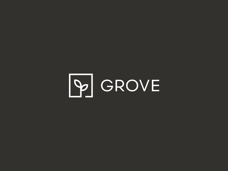 Grove scandia icon minimalism minimal logo