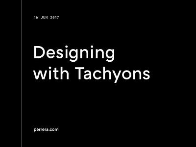 Designing with Tachyons website ux ui tachyons css blog