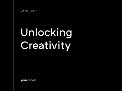 Unlocking Creativity creativity blog article