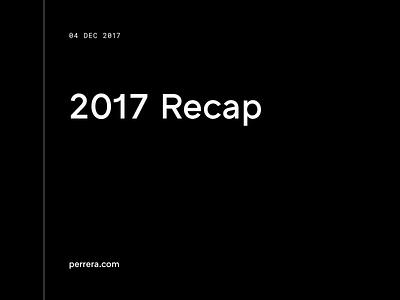 2017 Recap article blog