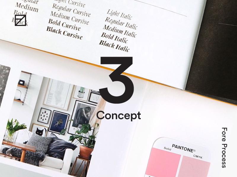 3 — Concept process design