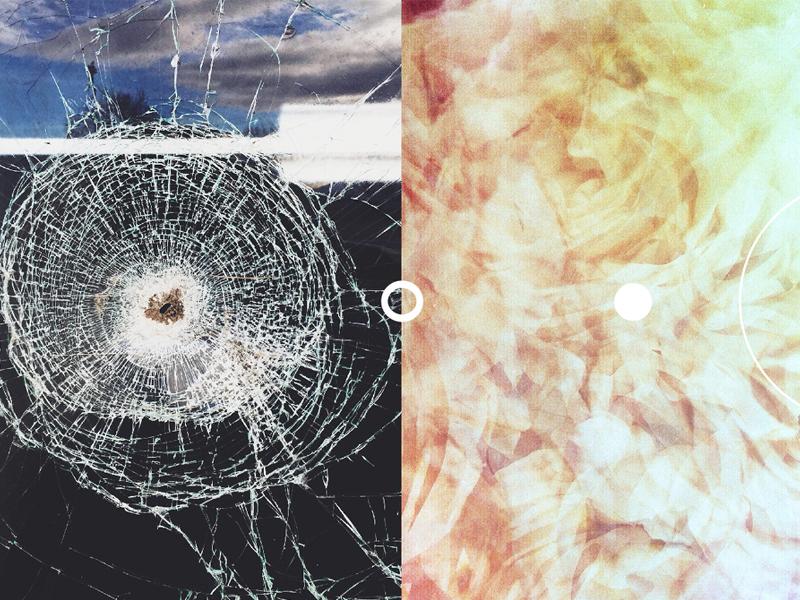 (  o  O  o  )   broken photography collage