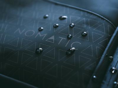 Nomatic logo refresh logo everyday carry product branding
