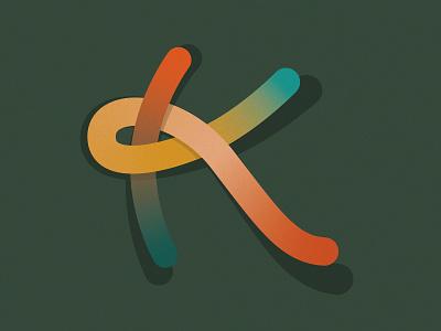 K - 36 Days of Type k 36 days of type logo hand lettering design vector illustration lettering typography