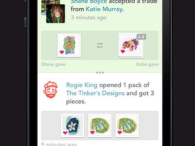 Neonmob iOS Mock awesome ios ui neonmob app iphone stream