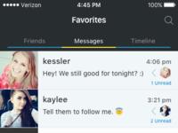 Favorites   messages