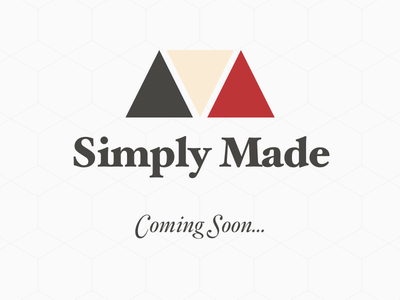 Simply Made awesome branding project logo