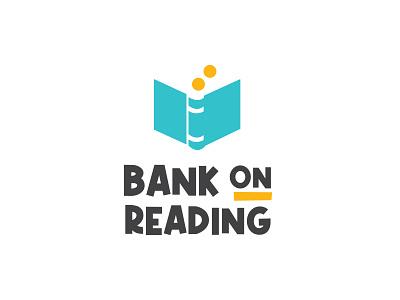 Bank on Reading vector design logo illustration art direction branding graphic design