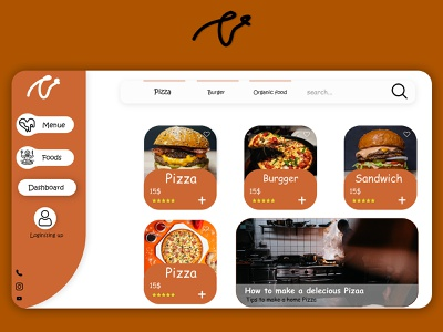 Mary fastfood fastfood website web design ux ui minimal design