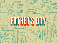 Father's Day BBQ Icons