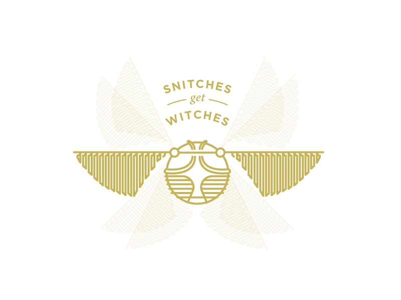 Snitches Get Stitches by Adam Roark on Dribbble