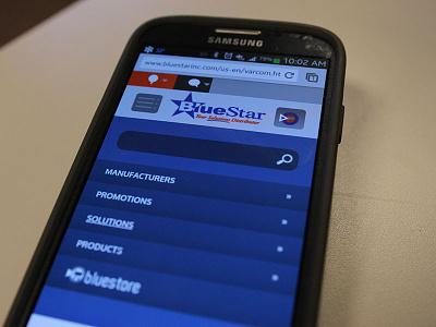 Mobile Site Menu ui web mobile