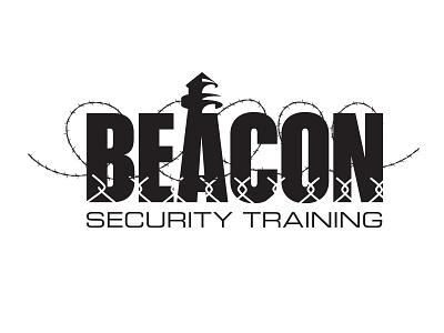 Beacon Security Training logo mark security logo design identity