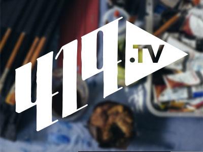 419.tv Branding 419 logo branding typography