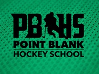 Point Blank Hockey School Logo