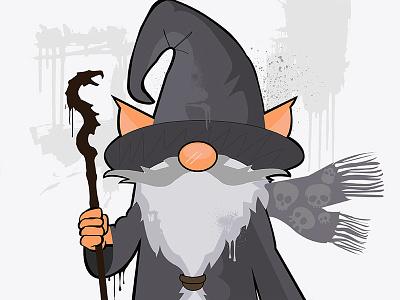 Wizard Illustration illustrator digital illustration illustration vector