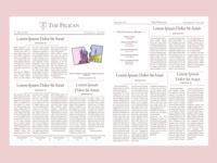 """The Pelican"" Print Design"