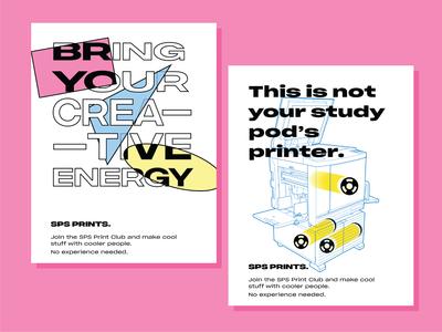 Print Club Posters