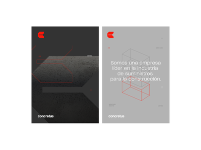 Concretus branding concrete editorial design architecture identity editorial geometric design vector argentina trademark logotype brand branding symbol logo