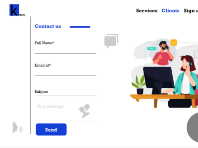 contact page design figma illustration logo icon ux ui customer experience customer support customer service information website contact