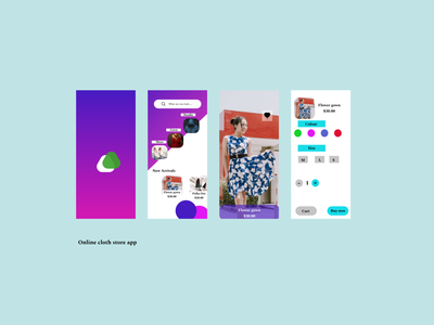 store app branding apparel store fashion fashion app figma design